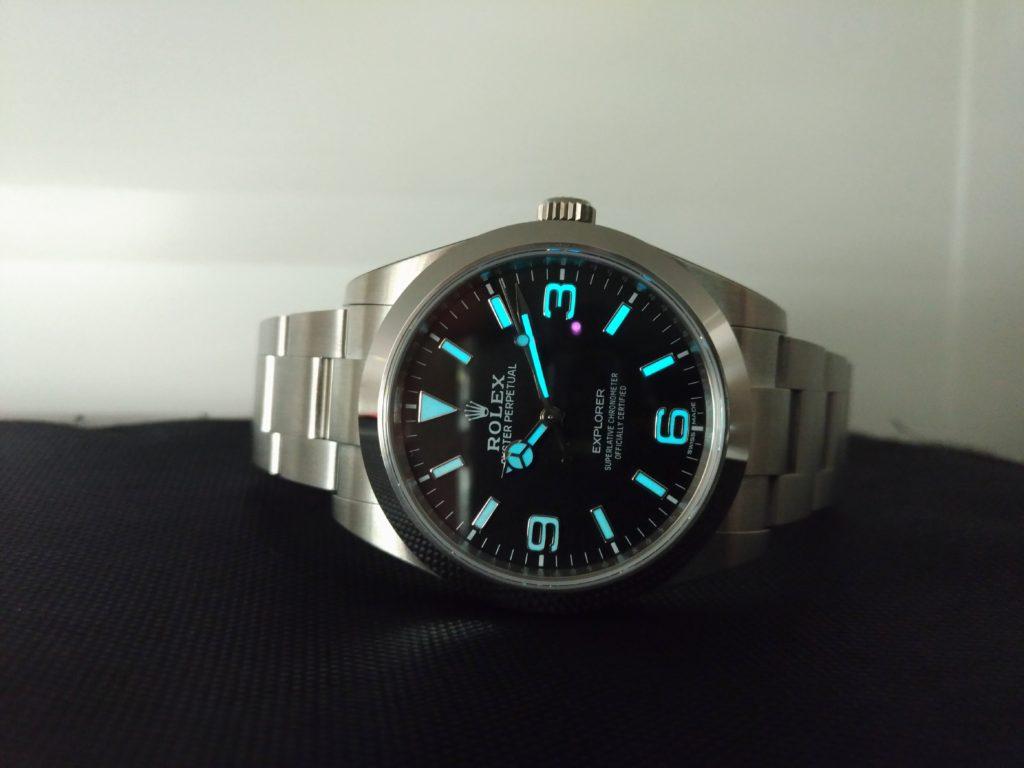 newest df7d3 dfbff ロレックス エクスプローラーⅠについて~冒険者のシンプル時計 ...
